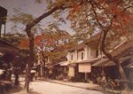 Bac Ky, Hanoi, 1915 - Hang Thiec Street (Rue des Ferblanctiers). Photo by Léon Busy.jpg