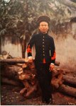 Bac Ky, Hanoi 1915 - Corporal Khong Do dressed in uniform. Photo by Léon Busy.jpg