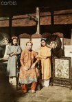 Annam, Hue 1931 - Mrs. Chua Nhat, Queen of the King Duc Duc, the eldest sister of King Thanh T...jpg